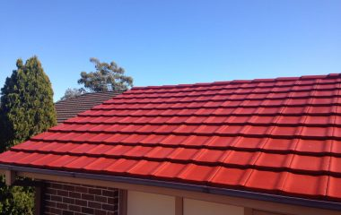 red clay roof painting service