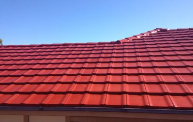 clay roof painting service