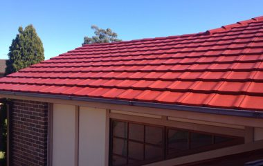 high quality clay roof painting services
