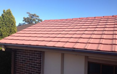 high class clay roof painting services