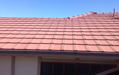 high class clay roof painting
