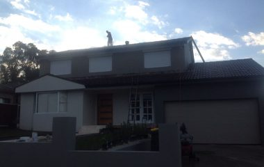 pressure roof cleaning by High class roofing