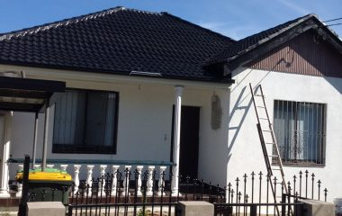 high pressure roof cleaning services after picture